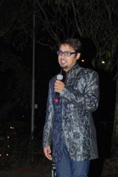 Shivam Saraswat Anchor Delhi
