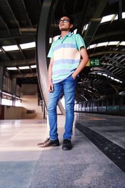 Hanshul Arya - Model in Delhi   www.dazzlerr.com