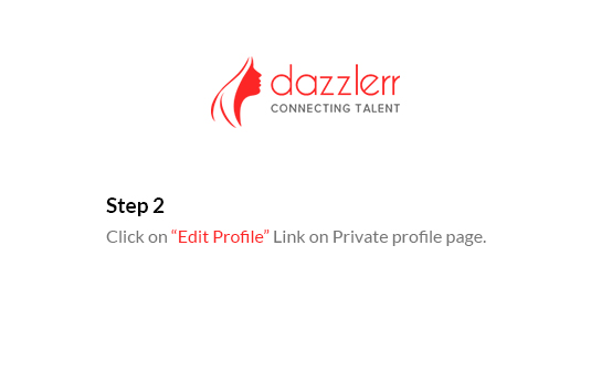 Dazzlerr : Edit Profile Step 3