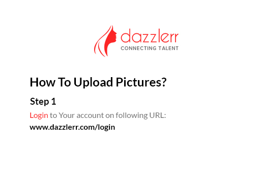 Dazzlerr : Photo Step 1