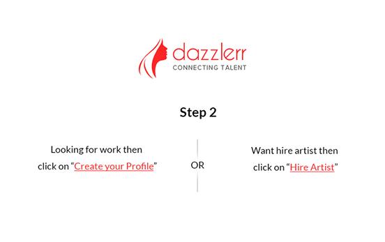 Dazzlerr : Step 3