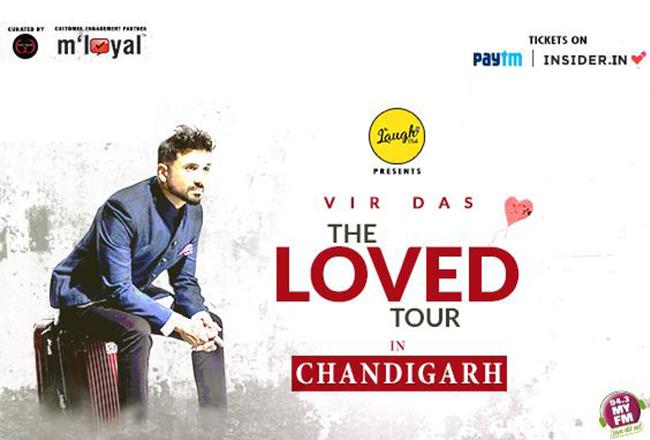 Dazzlerr : Vir-Das-live-in-Chandigarh--TheLovedTour