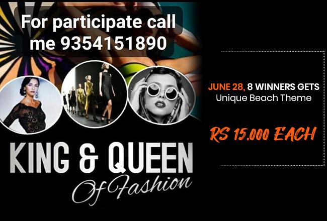 Dazzlerr : King & Queen Of Fashion2020