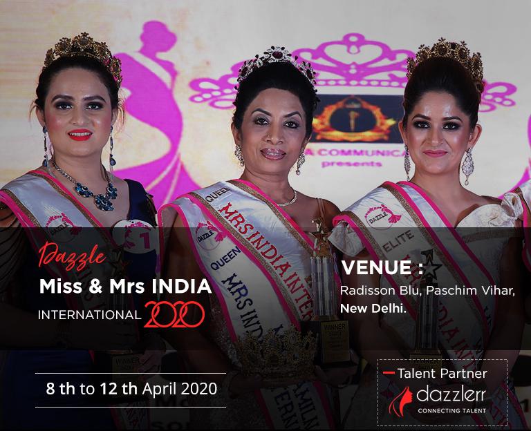 Dazzlerr - Dazzle Miss & Mrs INDIA International 2020